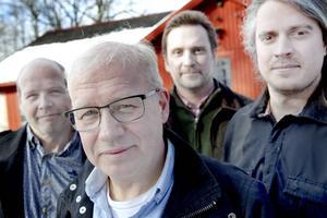 Mikael och Stefan Erlandsson, Mårten pettersson och Alexander Grahn.