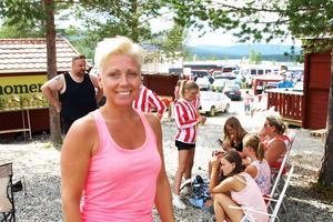Ann-Kristin Bergström, tävlingsledare, var mycket nöjd med arrangemanget.