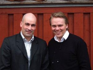 Daniel Wikberg blir ny vd i Trångsviksbolaget efter Richard Uski som ska åka ut i landet för att marknadsföra Trångsviks- modellen. Foto: Trångsviksbolaget