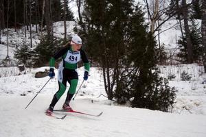 Guldtjej. Falu IK:s Hanna Brodin följde upp sitt brons från masstarten med att vinna gårdagens femkilometerslopp i JSM.