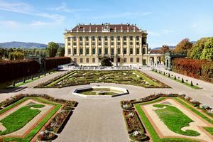 Slottet Schönbrunn - en av många saker att se i Wien.