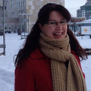 Victoria Boson är en av initiativtagarna för Walk and Talk i Örnsköldsvik.