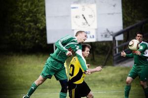 Fredrik Nord Norén drog in 1–0 från halva planen – och blev senare utburen på bår.