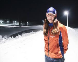 Ingela Rydesäter, tävlingsledare för Bollnässkidan.
