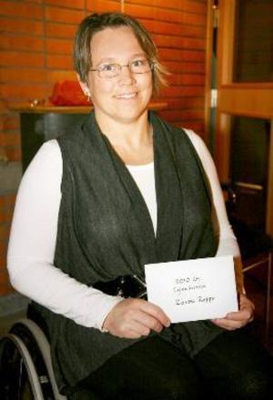 Zandra Reppe blev årets Lejonkvinna.
