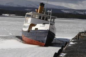Thomée rustades för vintern i Arvesund i oktober och är nu i ett fint skick inför sommaren – om det blir några turer. Just nu är det oklart.