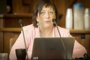 Karin Thomasson (Mp) är ordförande i styrelsen för stiftelsen Jamtli. Foto: Fredrik Westberg