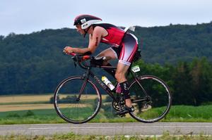 En struthjälm kan spara tid på cykeln, men fungerar dåligt i trånga utrymmen.