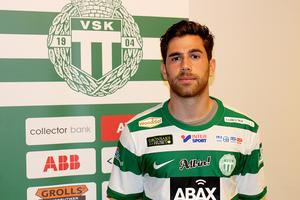 Carlos Gaete Moggia när han presenteras av VSK.