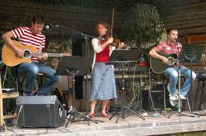 Musikanter. Bandet Wailing Wood bjöd på gamla klassiker i ny tolkning. Foto:Maja Berg