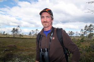 Jonas Pers har anlagt vandringsleden på Nolåkerflotten.