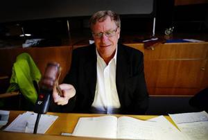 Hans Lundqvist (S), kommunfullmäktiges ordförande i Ragunda. Arkivbild