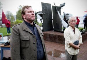 I lördags var det tal av både Metalls Stefan Löfvén och Vänsterpartiets Lars Ohly.