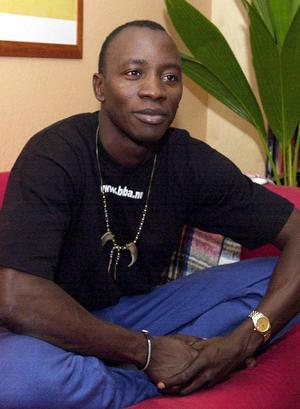Då som nu hävdar Buba att han var med i Robinson för att ha roligt, inget annat.