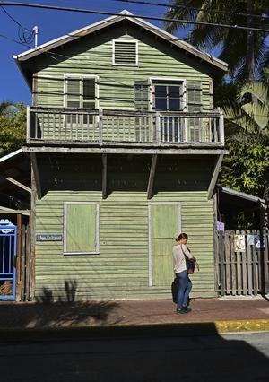 Key West är full av charmiga träbyggnader.   Foto: Anders Pihl/TT