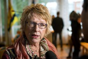 Kommunalråd Ewa Lindstrand (S) ser bara positivt på att Timrå är en pendlarkommun.
