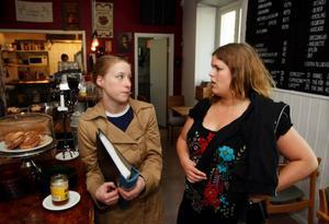 Anna Jonsson var en av delägarna till Tingshusets kafé. Nu kommer hon att fortsätta som anställd sedan Maud Stålhandske tar över. Foto: Jan Andersson