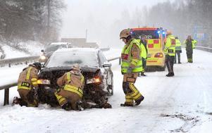 Vid Villingsberg inträffade en olycka i morse.