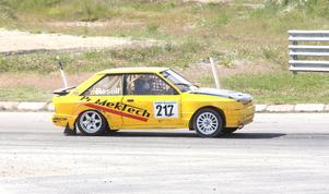 Peter Rosell dominerade i 2400 cc-klassen.