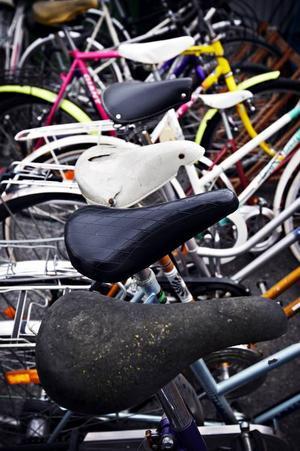 De få kvarvarande cyklar som rustades till bruksskick på Z-Rondellen ifjol blev under natten mot onsdagen färre. För någon hade klippt upp kättingen som cyklarna var fastlåsta med och stulit ett par cyklar.