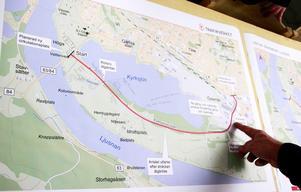 Den här skissen för nya Kyrksjönäsvägen presenterades redan i fjol. I november kommer ett samrådsförslag.
