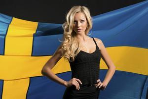 Alexandra Friberg representerar Sverige.