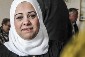 Nadal Manal leder den arabiskspråkiga socialdemokratiska gruppen i Ljusne.