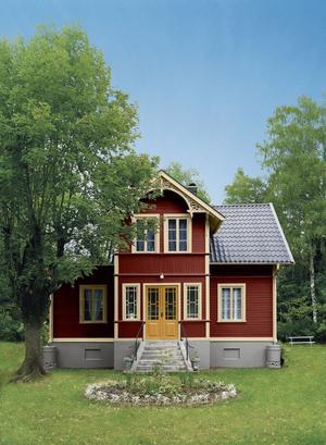 Röda hus är själva sinnebilden för det svenska kulturarvet.