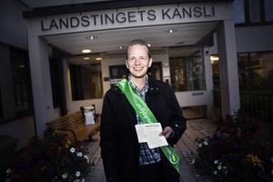 Miljöpartiets Göran Hådén.