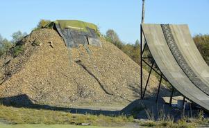 Rampen ska ha 53 graders lutning och det finns bara tre liknande anläggningar i Sverige.