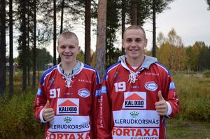 Ivan Detsura och Alexander Zheltyakov.
