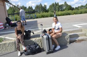 Nazanin och Susanna från Stockholm.