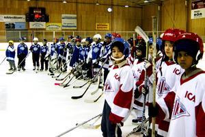 OS i skolan med olika idrottsaktiviteter blev ett sätt att lära sig mer om arrangemanget.