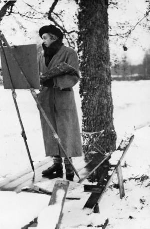 Marthe Bohm, glömd Hudiksvallskonstnär som åter uppmärksammas.