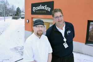 Anders Ors och Anders Jämthagen startade upp nattvandringar i Orsa 2014. Nu var det läge att ta tag i det igen och Anders Jämthagen, till höger, är numera kontaktperson för nattvandringen i Orsa.