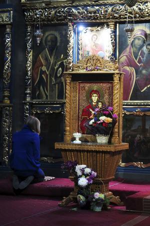 Flera ortodoxa kyrkor är sevärda, som Manastirea Antim.