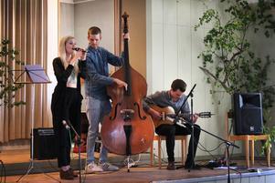 Iris Bergcrants trio.