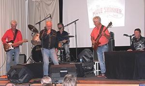 Rockfest för musikälskare i Linsell.