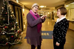 Här väger det fifty-fifty. Ewa Back (S) från Sundsvall tar över i hälso- och sjukvårdsnämnden, Elisabet Strömqvist (S) från Härnösand tar över i landstingsstyrelsen.