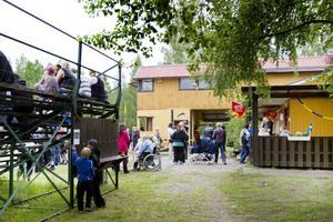 Anläggningen i Järbo lockar många för att den är så gemytlig och hemtrevlig.
