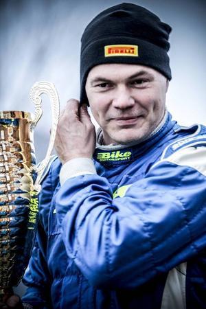 Totalsegraren Jerker Axelsson under prisutdelningen.