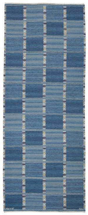 Barbro Nilsson, Falurutan blå, rölakan 1952. Utrop 20.000-25.000 kr.            Foto: Bukowskis auktioner.