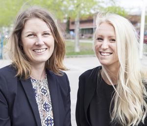Mentorn Jessica Flodin tillsammans med adepten Johanna Eldh har haft ett bra och nära samarbete tack vare Mentorsprogrammet.