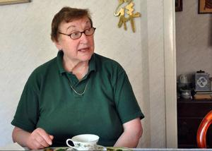 Anna-Stina Palm, Gevåg, ordförande i Ragunda reumatikerförening arrangerar festen för firandet av donationen.