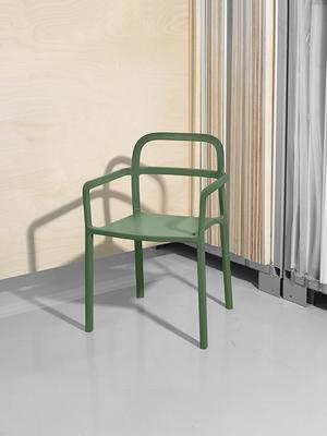 Stilren stol. Designad av danska Hay.