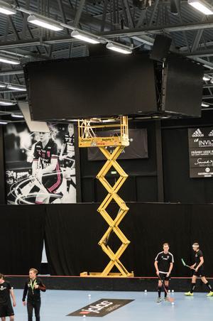 IBF Faluns nya mediekub i Jalas Arena,