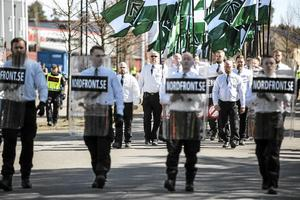 Nordiska motståndsrörelsen har delat upp landet i sju olika