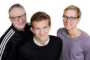 """Stefan Nolervik, Peter Arnemo och Per Arnsäter har tillsammans skrivit kommande reportageboken """"Fagert är landet – en reportagebok från Jämtland"""". Viss inspiration har de hämtat från PO Tidholms bok """"Norrland""""."""