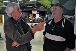 Ulf Caresten och Janne Lucas Persson pratar gamla minnen från sin tid i bandet Lucas på 1960-talet.