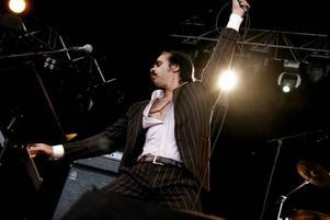STOCKHOLM. Nick Cave spelar på Where the action is                               i Stockholm.